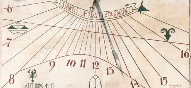 Orologi da parete – la meridiana